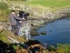 securing-camera-at-cliff-top