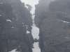 South Buttress Gully. Never seen it so full
