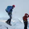 Jenny top-edges the crest with Gillean behind