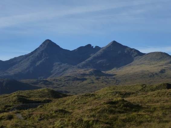 Coire a' Bhasteir Skyline