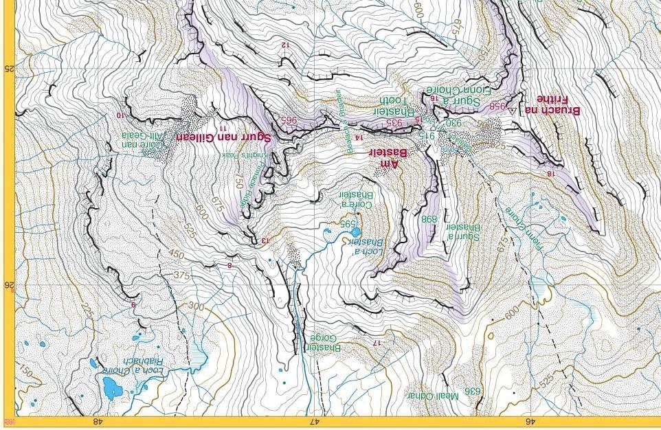 Harveys Cuillin map updates 2014  Skye Guides