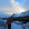 Beautiful start past Fairy Pools on Friday 15th
