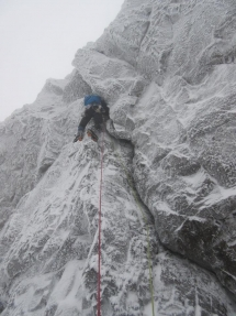 Mr Charlie VI,7. First ascent. Sunday 17th