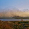 Morning mists over Loch Slapin