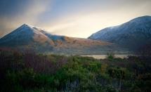 Magical morning light on Beinn na Cro, Thursday 14th